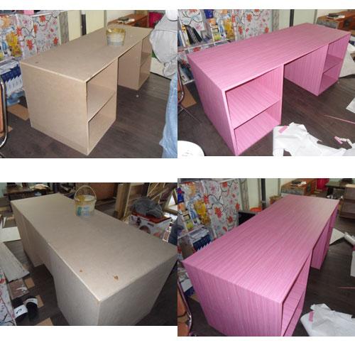 Pastel tone furniture film wrapping DIY | Vinyl, reform ...
